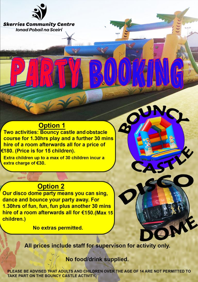 PARTY INFORMATION